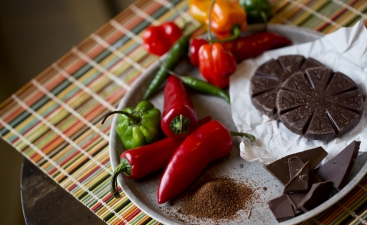 Chocolate Chimayo Red Chile Soup